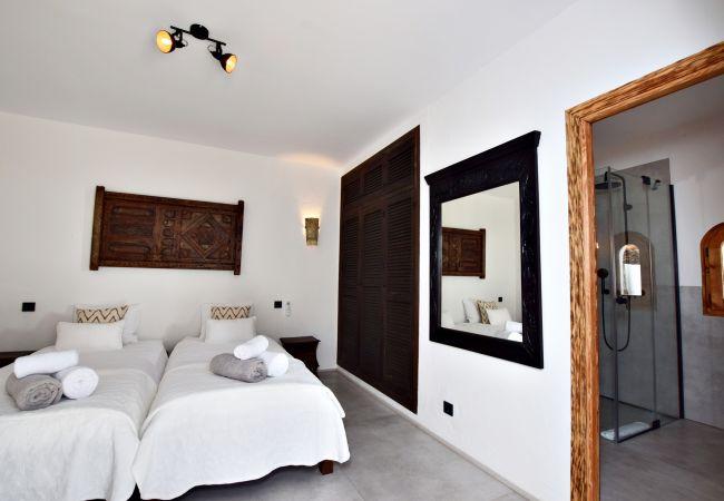 El Peñón - Dormitorio 4 patio