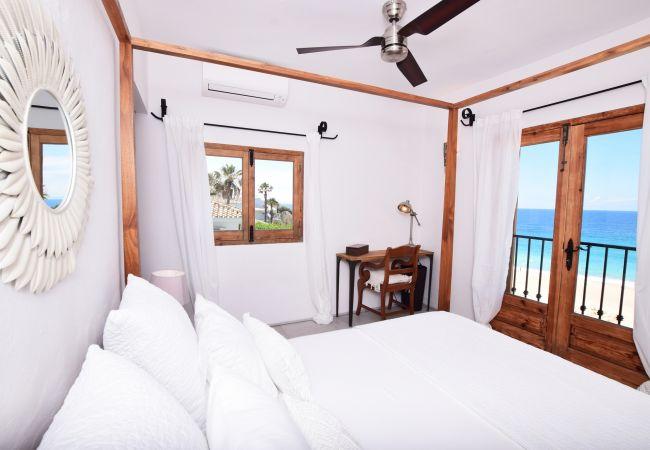 El Peñón - Dormitorio 1 con vistas al mar